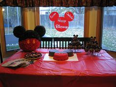 five: Party Post: Mickey Mouse