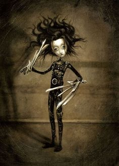 Benjamin Lacombe, Edward Scissors Hands                                                                                                                                                                                 Más