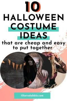 Browse this list for cheap and easy DIY halloween costumes that are perfect for this year