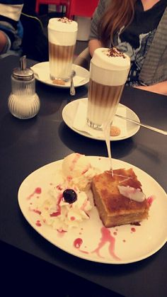 #coffe #latte #applepie #vanilla #icecream