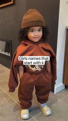 Southern Baby Girl Names, Baby Girl Names Unique, Cute Baby Names, Kid Names, Black Baby Girls, Cute Black Babies, Beautiful Black Babies, Pretty Names, Baby Name List