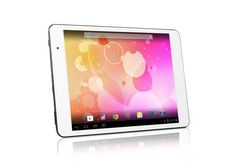 Le Pan 8GB 8-Inch Quad Core Android 4.2 Tablet (Silver). , 8 inches Display. A-Series Quad-Core A8 1.2 GHz. 8 GB Flash Memory, 1.0 GB RAM Memory. 0.77 pounds.