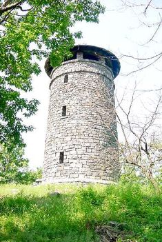 Haystack Mountain State Park - Norfolk, Connecticut =  hiking, picnic, observation tower, overlook, walk-in facility