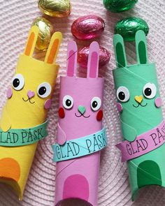 Easter Crafts For Kids, Easter Bunny, Recycling, Paper Crafts, Christmas Ornaments, Holiday Decor, Inspiration, Tips, Manualidades