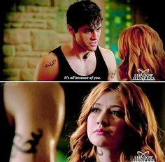 Alec and Clary - Shadowhunters season 2 trailer