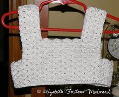 Elizabeth's Crocheted Child's Summer Dress – Say Very Sweet Things Col Crochet, Crochet Fabric, Thread Crochet, Crochet Crafts, Crochet Stitches, Crochet Projects, Free Crochet, Crochet Patterns, Diy Crafts