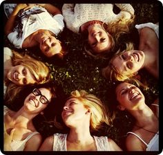 Hearted! I want a photo like this with all of my girlfriends. So. cute.