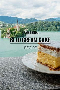 Bled is Slovenia is famous for the Bled Cream Cake or Kremna Rezina as it's known by the locals. The recipe is a secret but you can guess its ingredients.