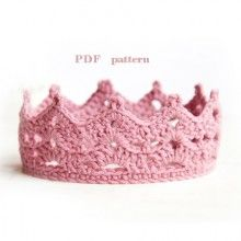 crochet crown pattern, Princess or Prince crochet Crown
