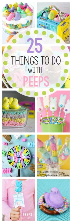 25 Fun Peeps Ideas for Easter – Crazy Little Projects