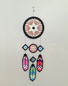 Dreamcatcher hama beads by hemillie                                                                                                                                                                                 More