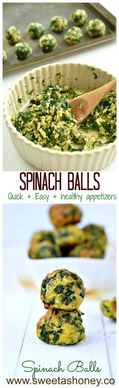 Are you looking for party appetizers? Those Spinach balls are very easy appetizer made in few minutes using only 5 ingredients.