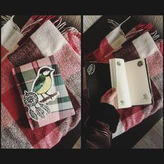 #handmadenotebook #notebook #notepad #sketchbook #bird #narure #demiurgespark Handmade Notebook, My Notebook, Notebooks, Christmas Stockings, My Photos, Bird, Holiday Decor, Etsy, Home Decor