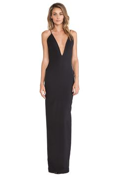 SOLACE London Murphy Maxi Dress in Black | REVOLVE