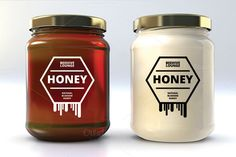 Honey Label by Mihaly on Creative Market