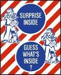 Cracker Jack -- the surprise was my favorite part!
