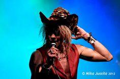 Tigerhat Tigerfeet Rock and Roll animal Michael Monroe