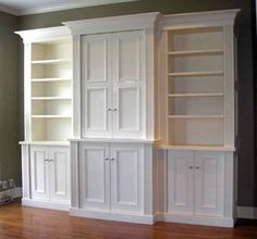Built-In Cabinet #2  Would like to do this in the basement one day.