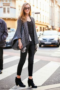 Spring fashion in Zagreb / photo by Street Style Seconds