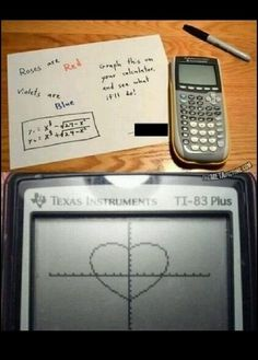 Great nerdy valentines letter.