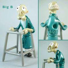 Bob the Glass Blower - Big B - Custom Herbert the Pervert Family Guy Rig #glass #710