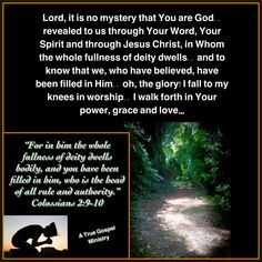 Have you been filled with the Spirit of God? Seek Him.. #atruegospelministry