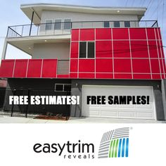 Like most of us, you want to see it to believe it! EasyTrim Reveals offers no charge estimates and free samples so you can do just that. Get in touch with one of our local representatives! Get your samples delivered right to you or submit your drawings for estimation. Panel Systems, Free Samples, Exterior, Touch, Contemporary, Drawings, Sketch, Outdoor Spaces, Portrait