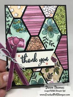 Share What You Love Blog Hop with DOstamperSTARS - Cracked Pot Stamper