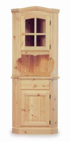 Base credenza rustica 2 ante in legno massello di pino di Svezia ...