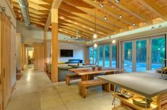 Modern Living Room Open Concept Loft Design, Pictures, Remodel, Decor and Ideas - page 15