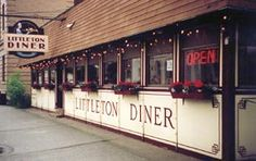 One of my favorite places to eat is the Littleton Diner in Littleton, New Hampshire.  A nice comfortable atmosphere (I love sitting at a booth and people watching!!) reasonable prices, good food and nice staff make for an awesome experience.