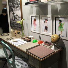 Ambientes decorados na casa Cor SP com Joy Paper Papelaria Sofisticada. www.joypaper.com.br