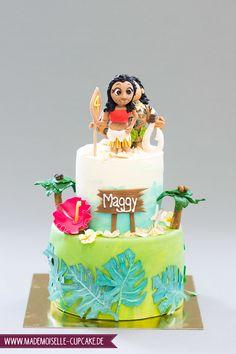 Vaiana Cake - Geburtstagstorte Torte Mademoiselle Cupcake Cupcakes, Mademoiselle Cupcake, Cake Decorating, Wedding Cakes, Birthday Cake, Baby Shower, Desserts, Food, Birthday Cake Toppers