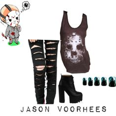 """""""Friday the 13th/Jason Voorhees"""" by xmelissathomasx on Polyvore"""