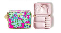 Lilly Pulitzer Travel Jewelry Case- traveler's dream! FREE gift with purchase.
