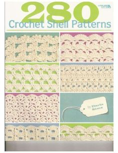 Browse through all 280 crochet shell stitch patterns in this e-book