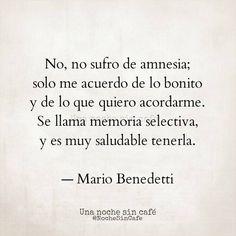 Me encanta esta frase de Mario Benedetti