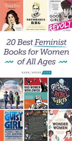 Books, feminism, feminist books, education, well read, books to read,