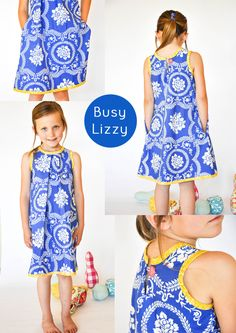 Swagger:  Busy Lizzy Dress