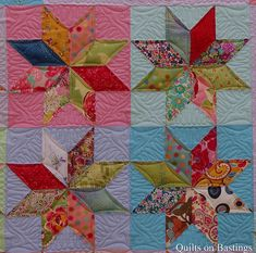Eight Pointed Star Quilt | Flickr - Photo Sharing!