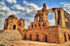 Jinn's Presence In Feroz Shah Kotla Mosque ~ Famous Places