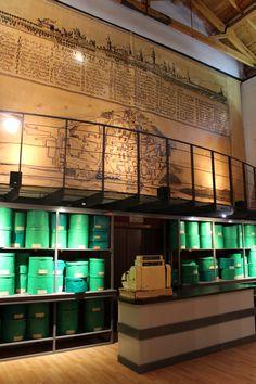 Museo Etnológico. Mostrador de la Sombrerería de Candido Martin