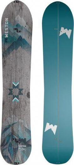 Weston Snowboards Women's Riva Splitboard  153 Cm #snowboarding