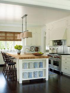 white kitchen | Phoebe Howard