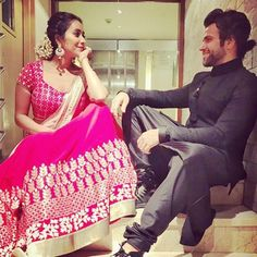Rithvik and Asha get romantically cheesy in these adorable pictures!