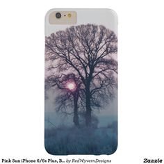 Pink Sun iPhone 6/6s Plus, Barely There Phone Case