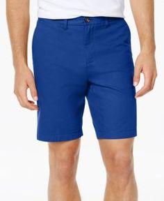 "Tommy Hilfiger Men's Shorts, 9"" Inseam - Gray 35W"