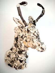 Paper mâché taxidermy