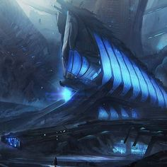 Title: Upcoming Vr Project- Concept art-2  Artist: Leon Tukker