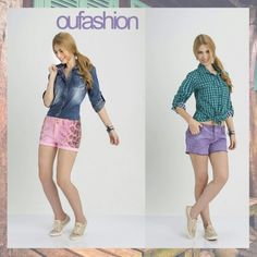 Qual o tom que faz mais o seu estilo? #pink #lilás #fashion #teen